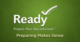 FEMA Ready Campaign. Prepare. Plan. Stay Informed